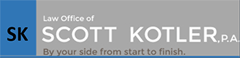 Law Office of Scott Kotler, P.A. Header Logo